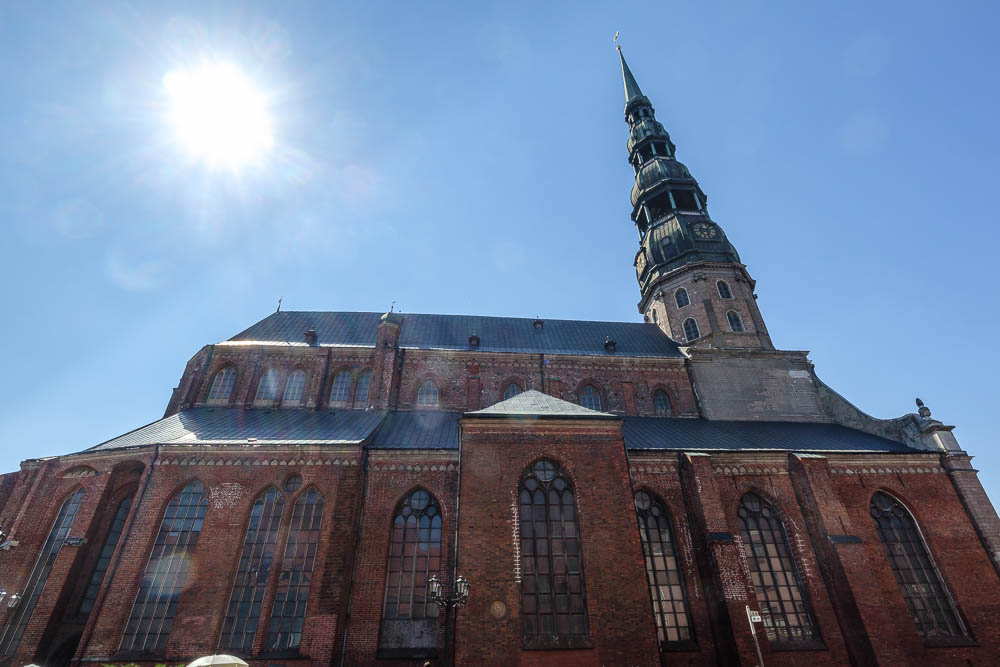 St. Petrikirche in Riga
