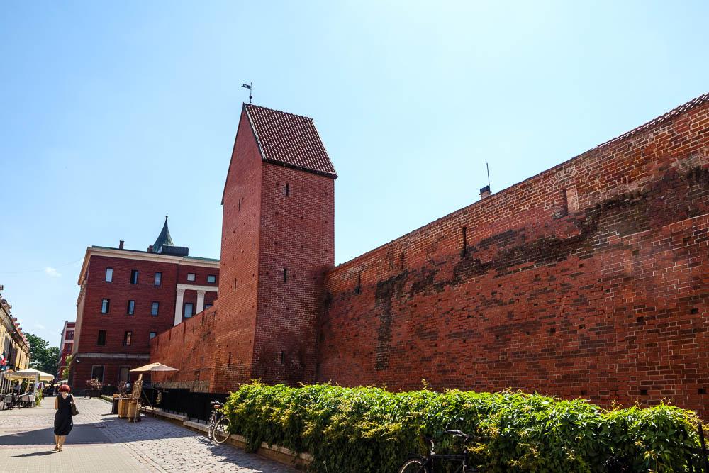 Stadtmauer von Riga