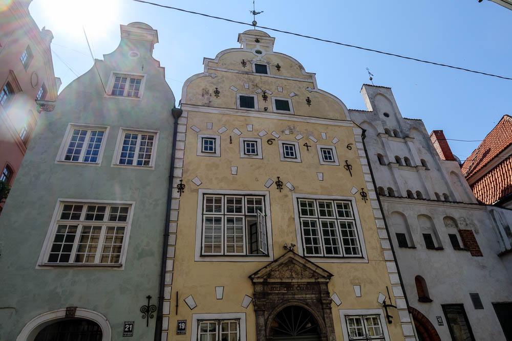 Die drei Brüder in Riga