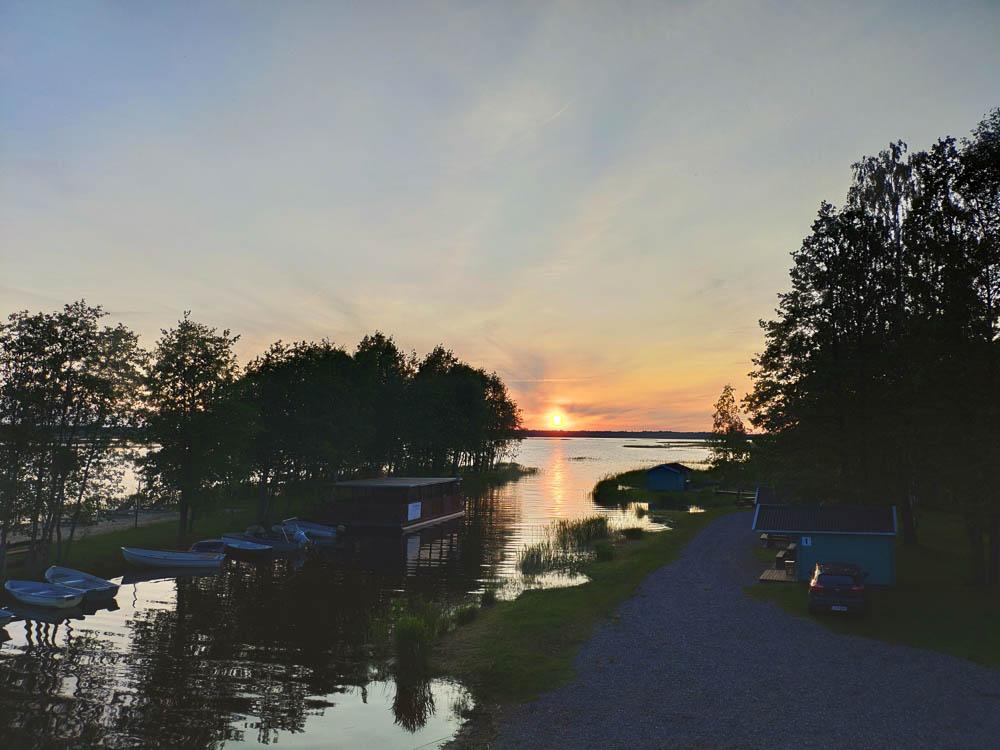 Sonnenuntergang über dem Ermistu Järv