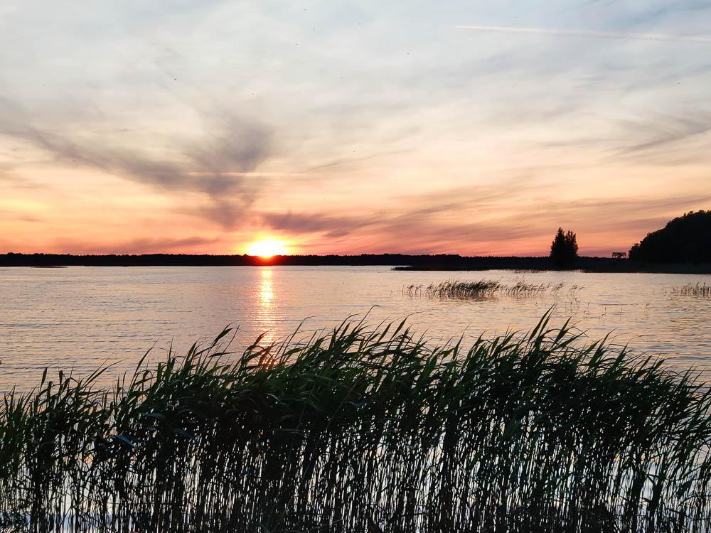 Sonnenuntergang am Ermistu Järv