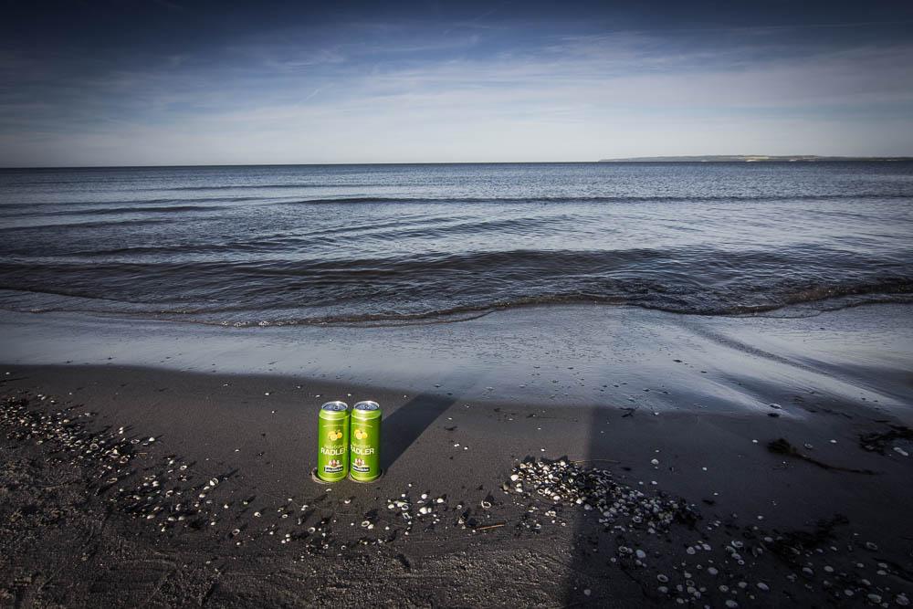 Feldschlößchen Radler an der Ostsee