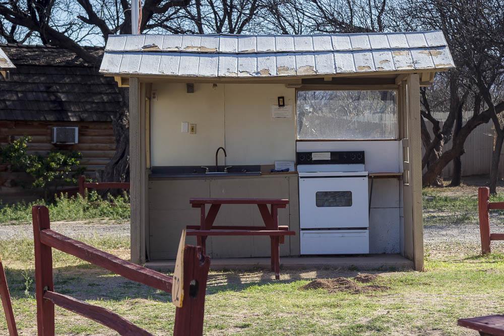 Campingküche Benson KOA