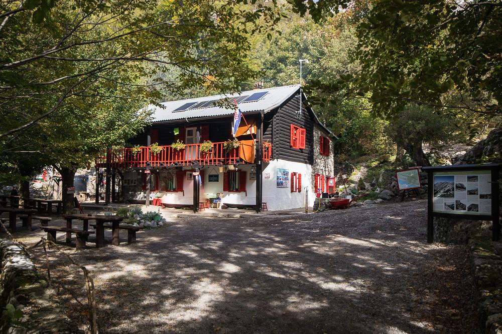 Die zweite Hütte auf unserer Strecke durch den Nationalpark Paklenica