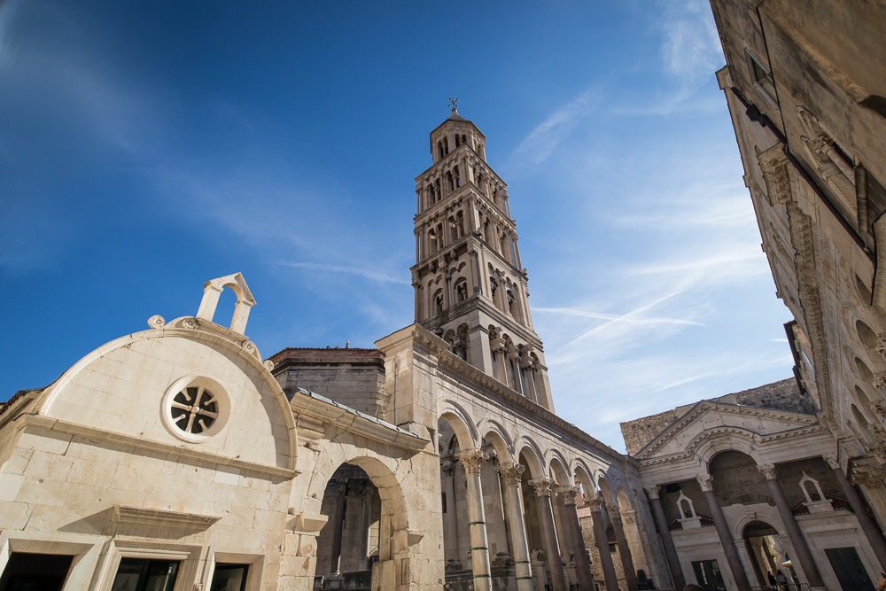 Kathedrale von Split und Diokletianpalast auf unserer Tour zu Fuß durch Split