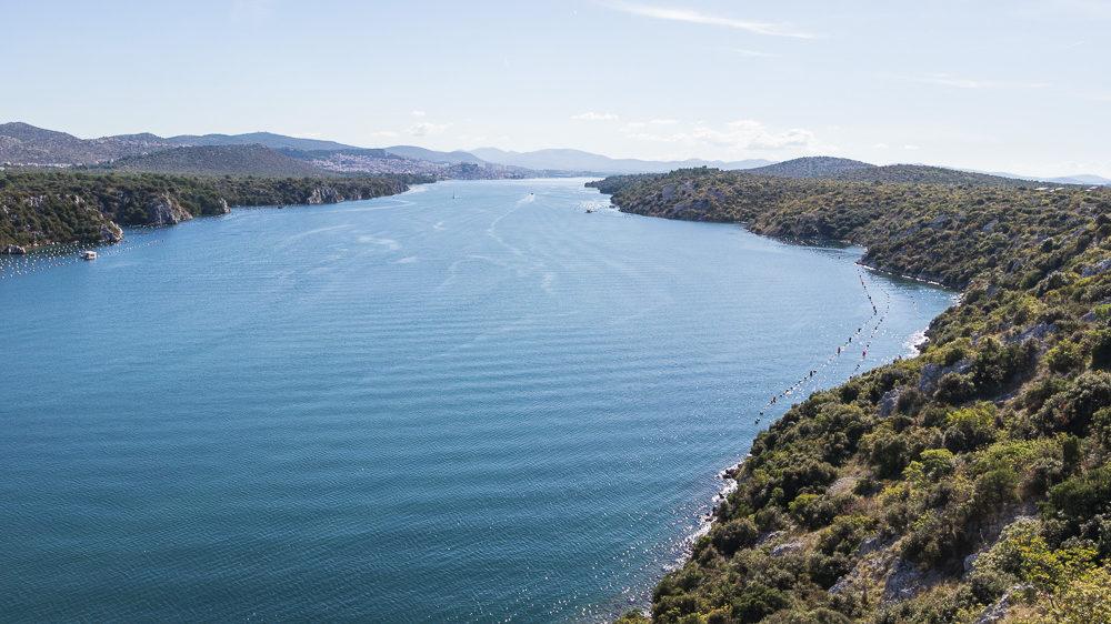 Urlaub in Kroatien Tag 10: Panoramabrücke vor Sibenik