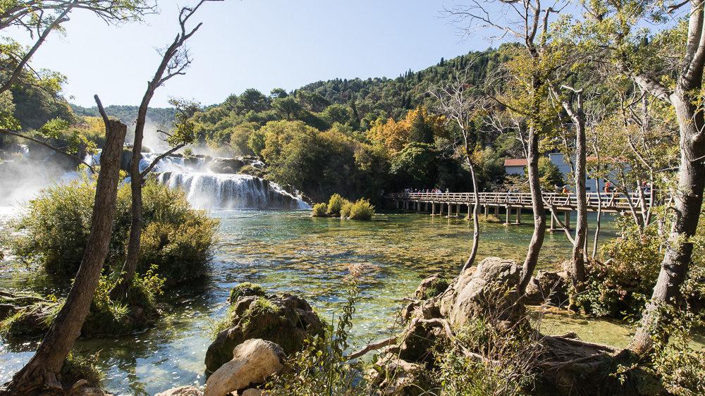 Urlaub in Kroatien Tag 11: Wir erkunden den Nationalpark Krka