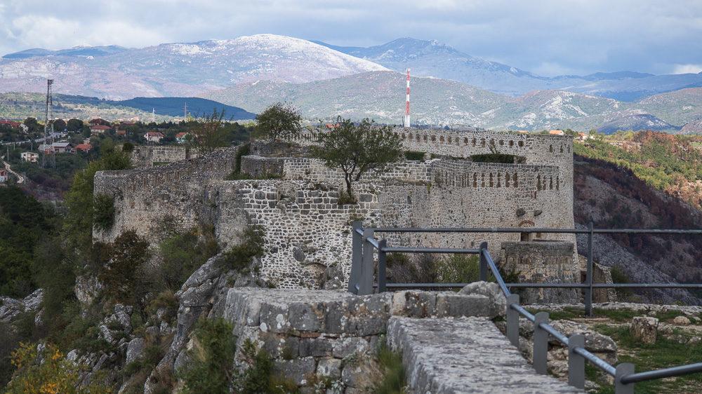 Reisetipp Kroatien: Festung Knin