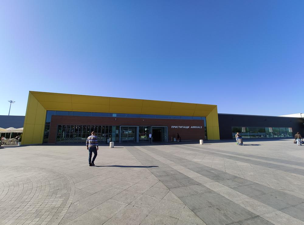 Am Flughafen Varna machten wir uns auf den Weg unseren Mietwagen abzuholen