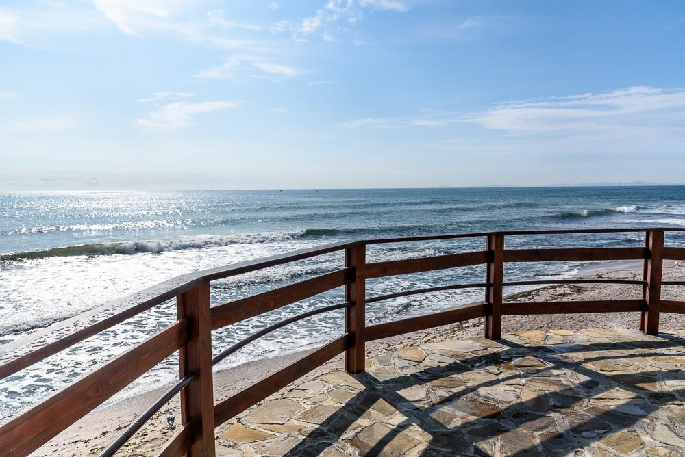 Immer wieder traumhafte Blicke auf das, heute so schöne, Schwarze Meer bei unserem Spaziergang durch Nessebar