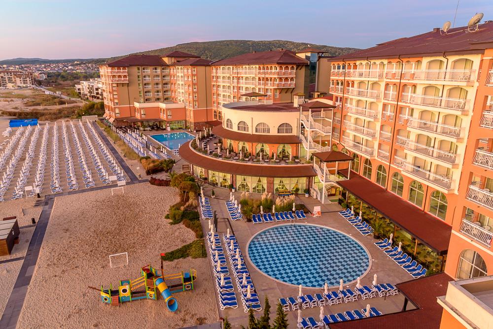 Noch ist es ruhig im Hotel Sol Luna Bay