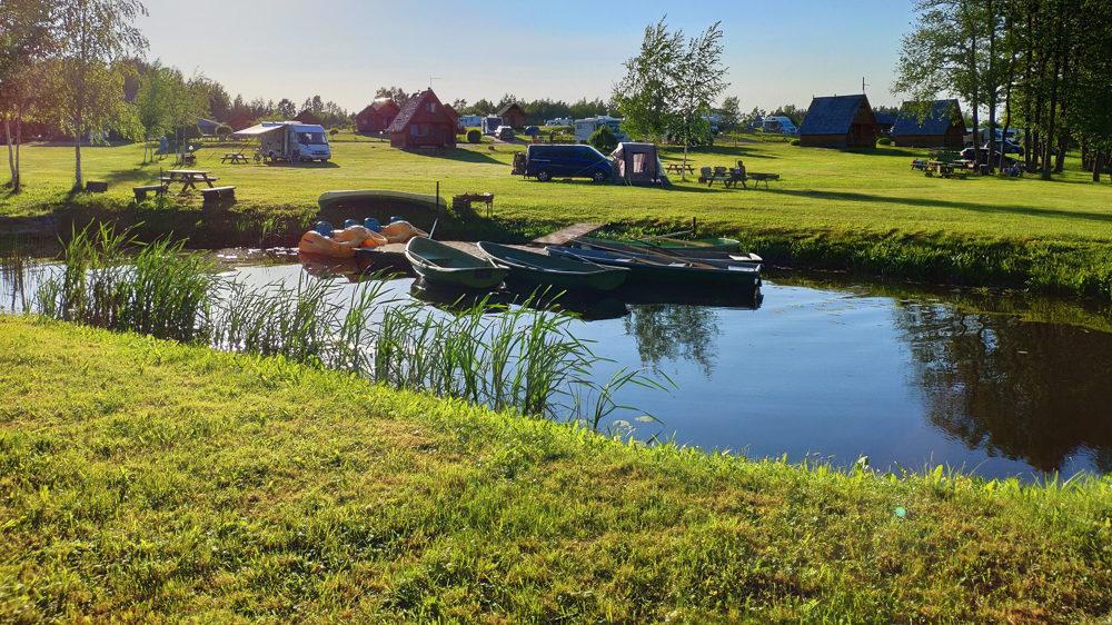 Camping Apalkalns in Lettland – Erfahrungsbericht