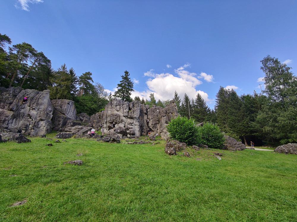 Die Felsformation am Kemitzenstein, ein Traum für jeden Kletterer und eines unserer Highlights im Jahr 2020