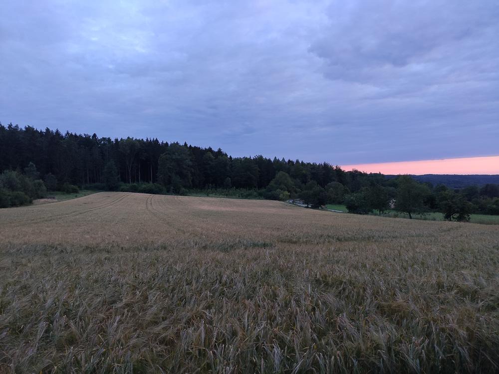 Sonnenuntergang am Kemitzenstein