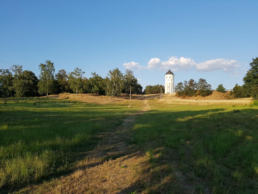 Wasserturm Rückmarsdorf auf dem Wachberg im Westen von Leipzig