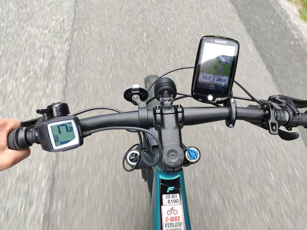E-Bike Cockpit