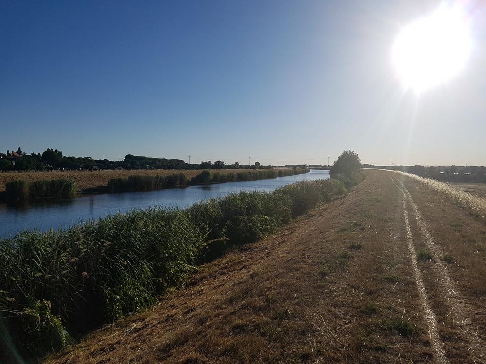 Der Elster-Saale-Kanal bietet viele Zugangsmöglichkeiten