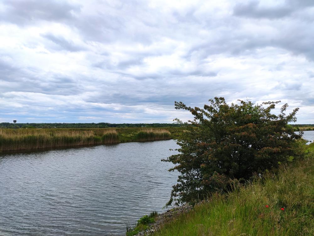 Blick auf den Elster-Saale-Kanal