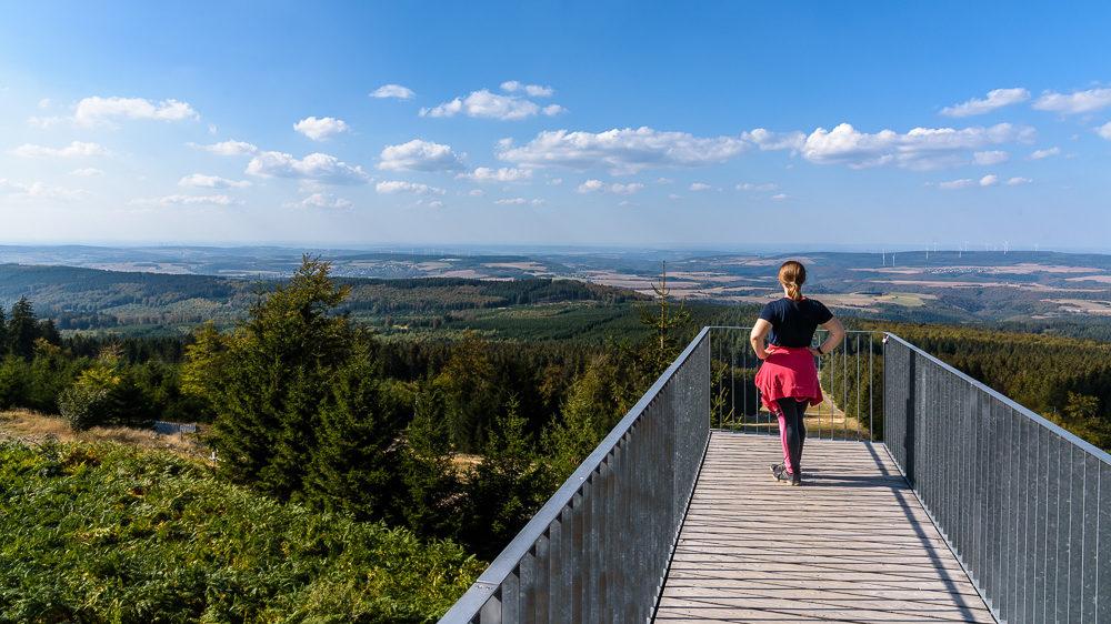 Projekt 16 Summits: Erbeskopf, höchster Berg in Rheinland-Pfalz