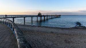 Ausflugstipp Schleswig-Holstein: Die 185 Meter lange Seebrücke Niendorf