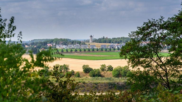 Der Wasserturm Rückmarsdorf ist einer der schönsten Aussichtstürme in Sachsen