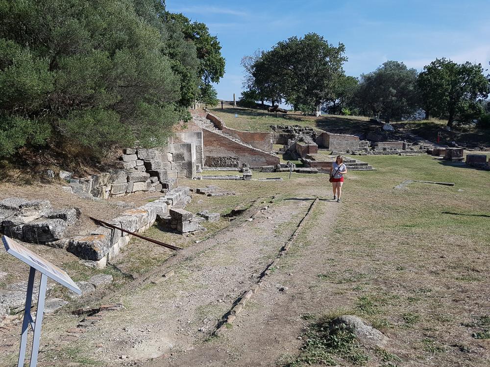 Rundgang auf der Ruinenstätte Apollonia