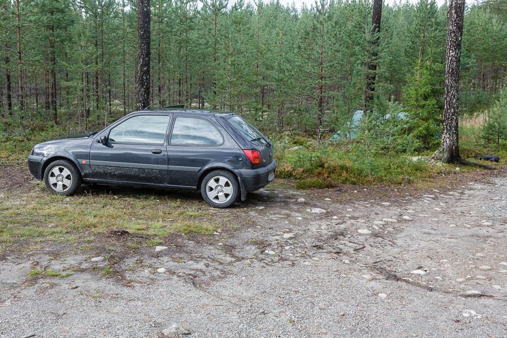 Mit dem Ford Fiesta in Norwegens Wäldern unterwegs