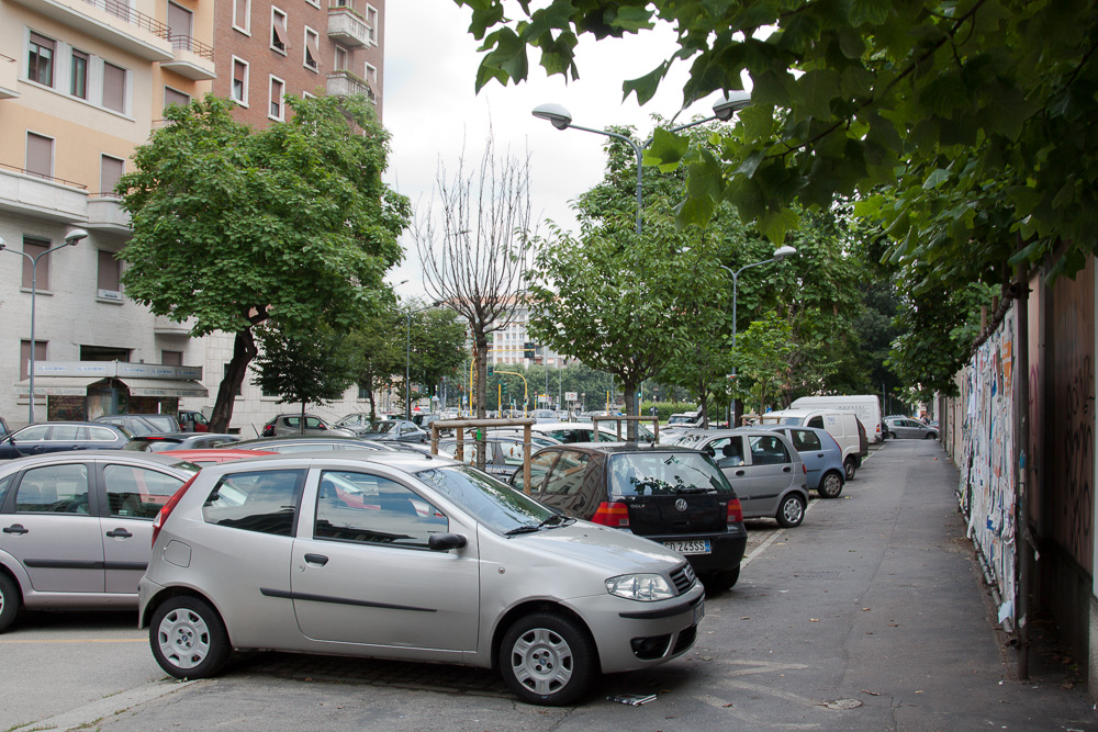 Irgendwo in Mailand. Wir hatten uns wohl verlaufen.