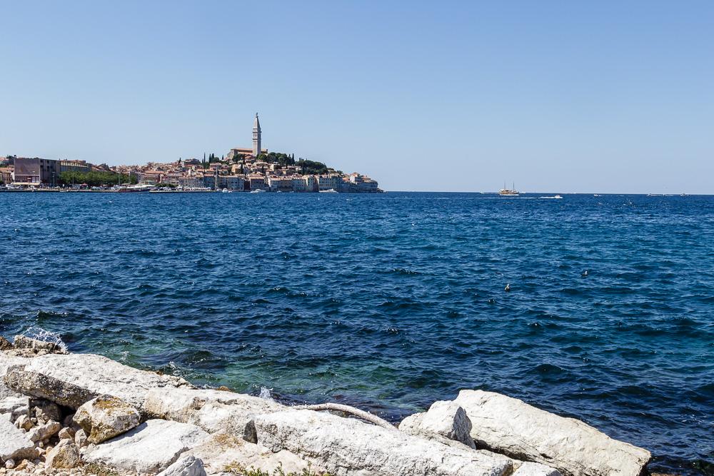 Die Altstadt von Rovinj in Istrien