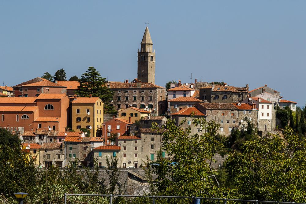 Die Altstadt von Labin