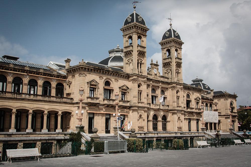 Rathaus von Donostia San-Sebastian