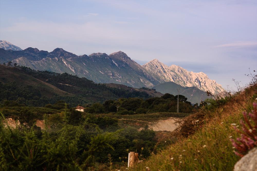 Die Ausläufer der Picos de Europa