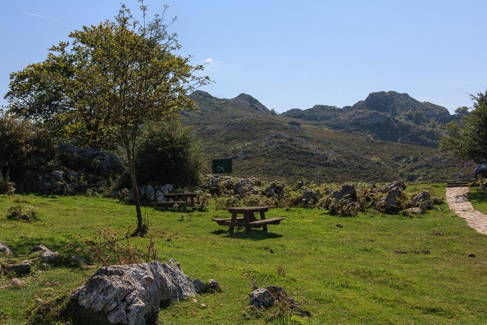 Rastplatz in den Picos de Europa