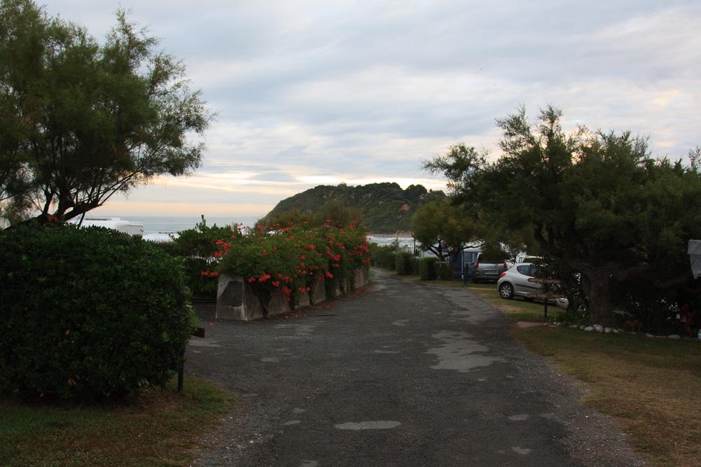 Letzter Aufenthalt auf dem Campingplatz La Ferme Erromardie
