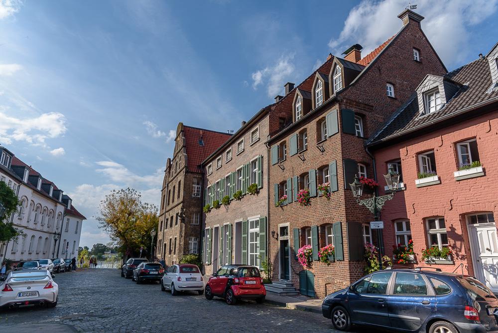 Historische Gebäude am Kaiserswerther Markt