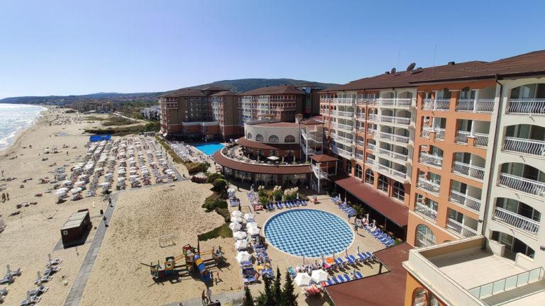 Das Hotel Sol Luna Bay in Bulgarien an der Küste des Schwarzen Meeres