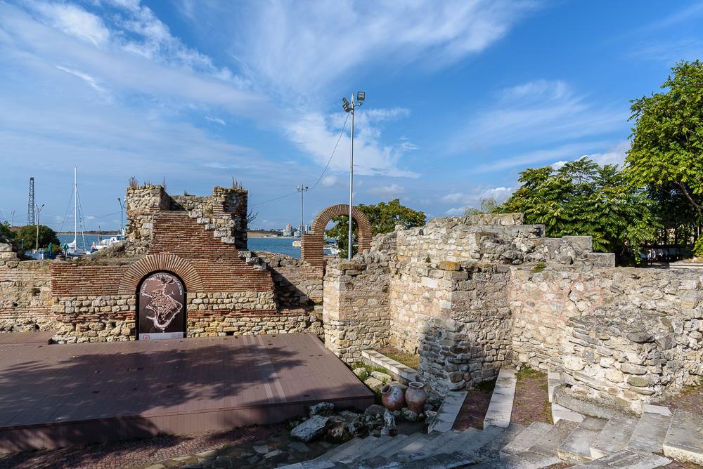 Das antike Theater am Pier in Nessebar
