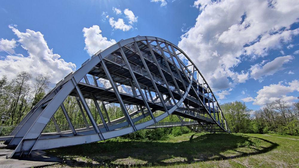 Read more about the article Ausflugstipp Sachsen-Anhalt: 28 Meter hoher Bitterfelder Bogen bei Bitterfeld-Wolfen