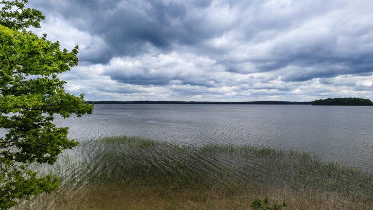 Blick auf den See Plateliai im Nationalpark Žemaitija