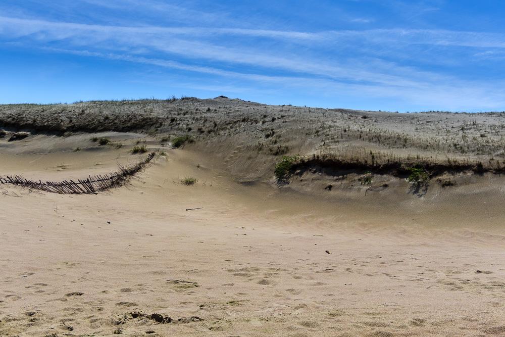 Dünenlandschaft auf der Kurischen Nehrung, hier die Toten Dünen