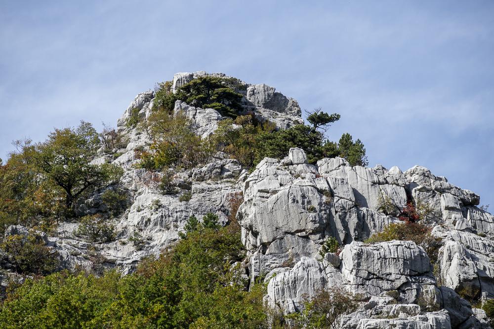 Der Nationalpark Paklenica ist vor allem bekannt für seine raue Felslandschaft