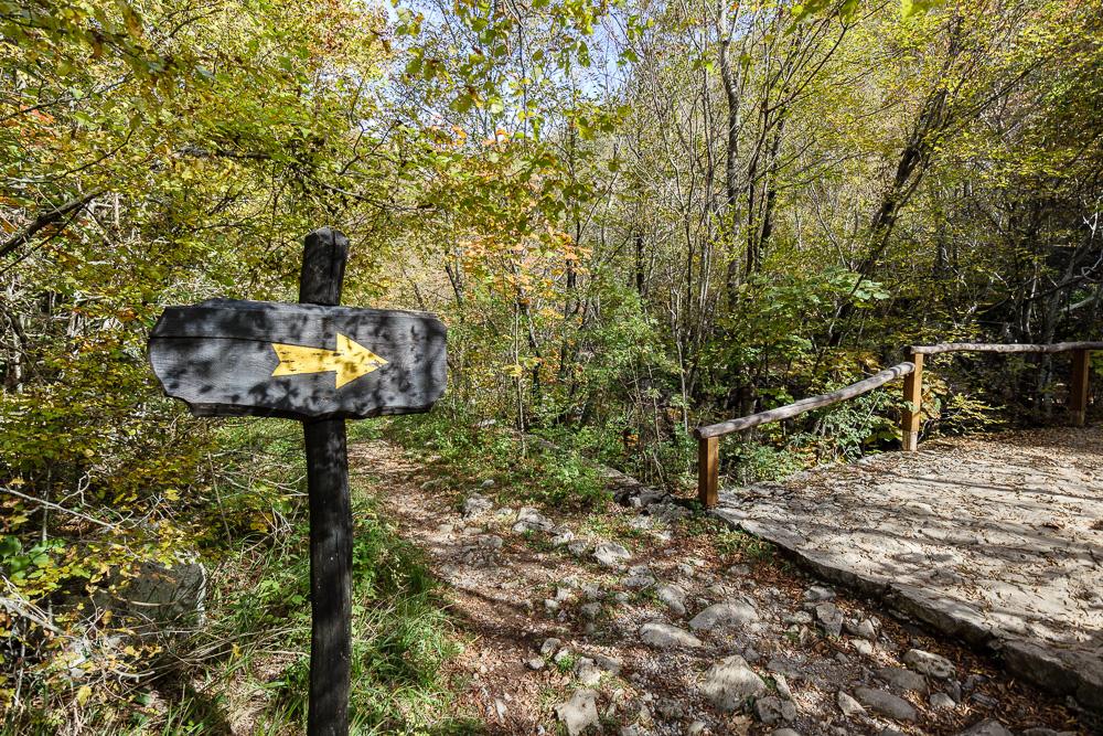 Die großen Wanderwege im Nationalpark Paklenica sind ausgeschildert
