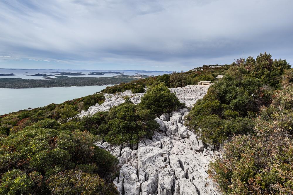 Die Aussicht vom felsigen Plateau des Kamenjak empfanden wir als sehr beeidruckend