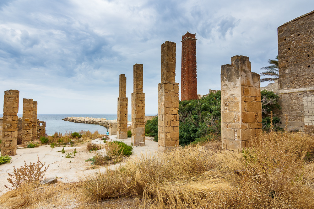 Lost Place und tolle Fotolocation bei Avola in Sizilien