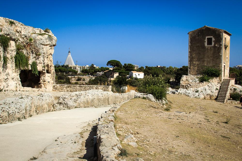 Wir besuchen den archäologischen Park auf unserem Ausflug nach Syrakus