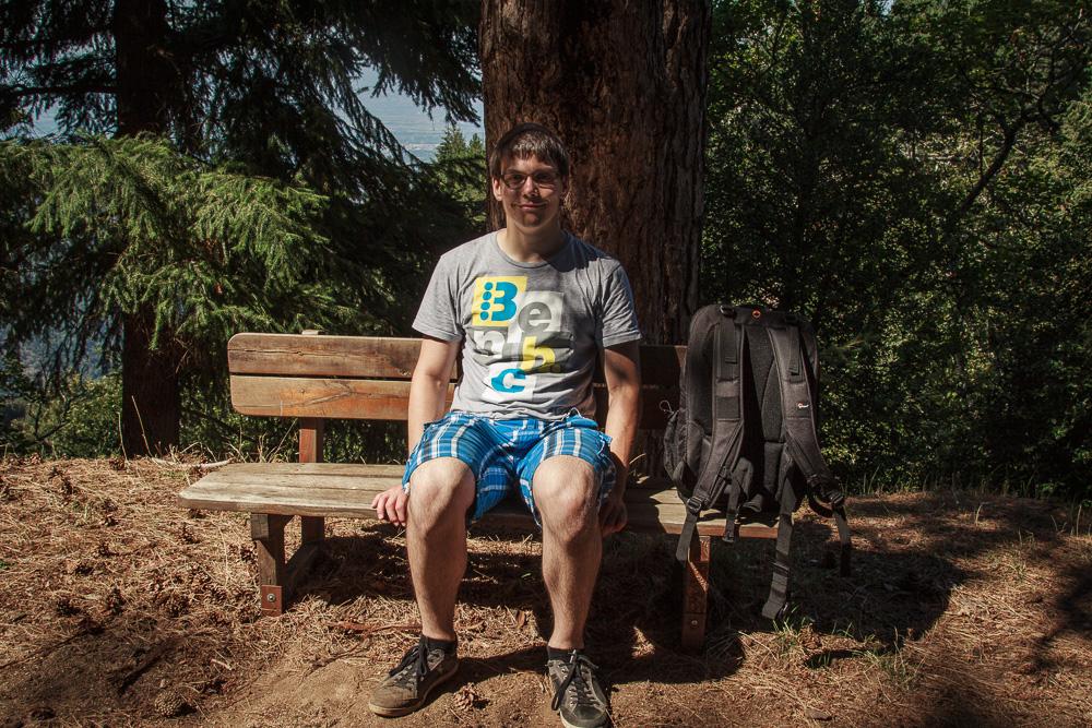 Eine kleine Pause in den Bergen Kalabriens