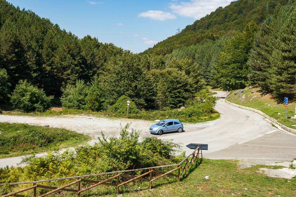 Mit dem Kleinwagen unterwegs im Nationalpark Pollino in Kalabrien